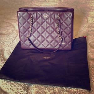 Kate Spade quilted bag. Like new condition!